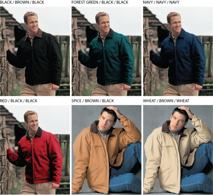 Tri Mountain Canvas Jacket - 4800 Pathfinder
