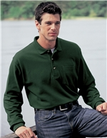 Tri Mountain Cotton Polo - 609 Spartan