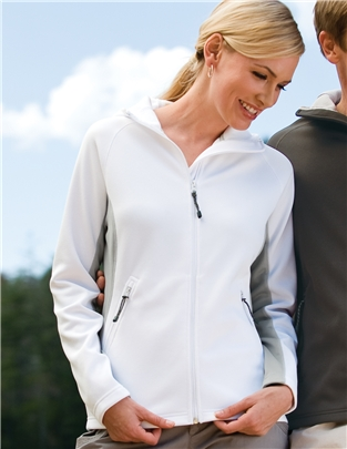 Women's Bonded Fleece Hooded Jacket #7360 Destination