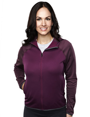 Tri Mountain UltraCool Hooded Fleece - 7387 Women's Raven