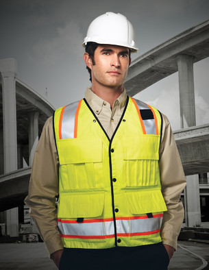 8435 Level - Tri Mountain Surveyor's Safety Vest
