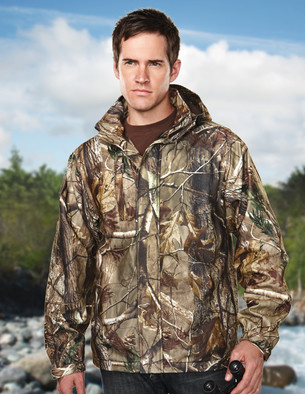 Tri Mountain Waterproof Jacket - 9486C Reticle Camo
