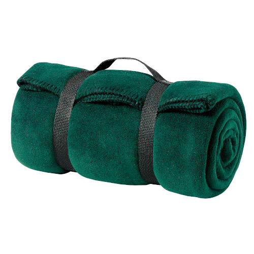 Value Fleece Blanket with Strap
