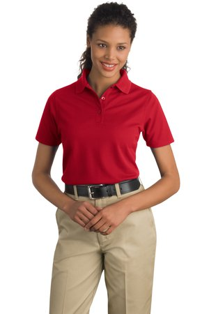 CornerStone - Ladies Industrial Pocketless Pique Polo. CS403.