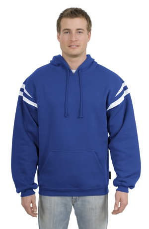 Sport-Tek - Pullover Hooded Sweatshirt with Mesh Arm Stripe F261