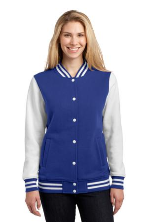 Sport-Tek - Ladies Fleece Letterman Jacket LST270