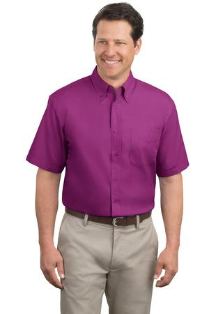 Port Authority - Tall Short Sleeve Easy Care Shirt. TLS508.