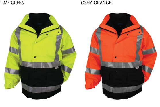8980 Industry - Tri Mountain Safety Jacket