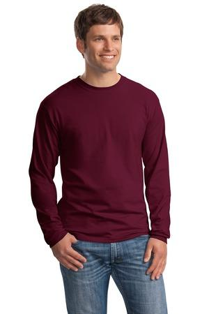 Hanes Beefy-T Long Sleeve T-Shirt #5186