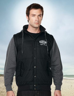 Tri-Mountain J8150 Shawn Hoody Vest