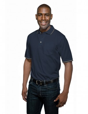Tri-Mountain Men's Polo Shirt - K097P Trace Pocket