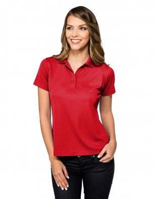 Tri-Mountain KL020 Lady Vital 100% Poly UltraCool Polo Shirt