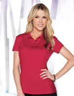 Lilac Bloom Knit Jersey Polo - LB027 Natalie