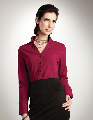 LB757 Meredith - Lilac Bloom Women's Long Sleeve Shirt
