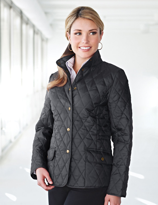 LB8223 Bridget - Lilac Bloom Women's Quilted Jacket