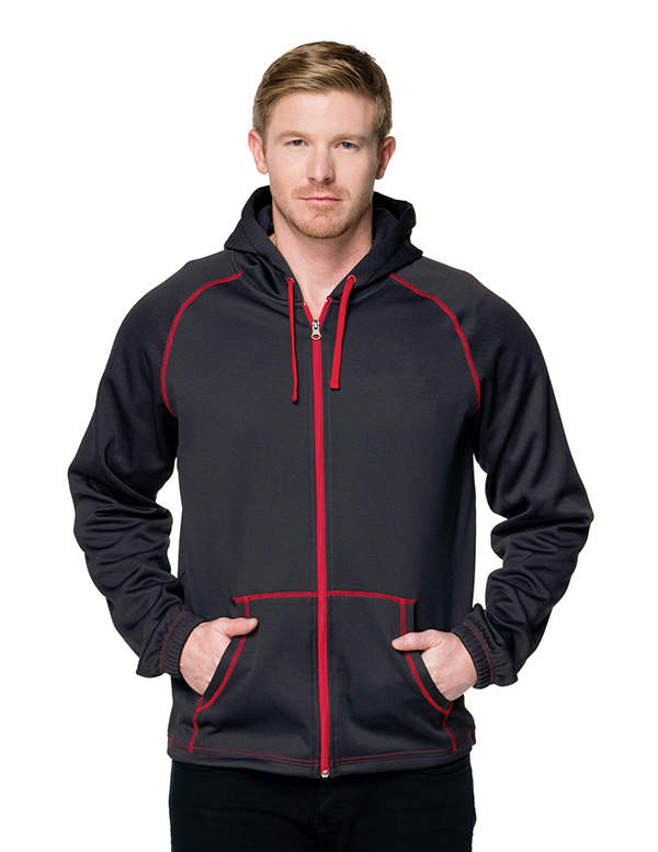TMR Racing Carbon Fiber Patter Full-Zip Hoody. F7173