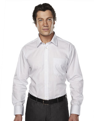 Tri-Mountain Gold Wrinkle Resistant Cotton Shirt - 968 Robertson