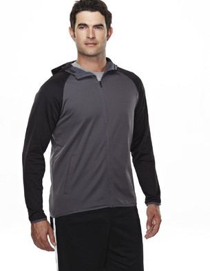 Tri Mountain UltraCool Performance Hooded - 7389 Raven