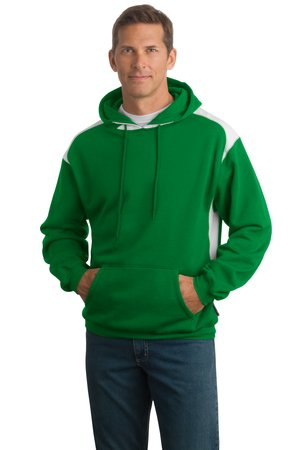 Sport-Tek - Pullover Hooded Sweatshirt with Contrast Color F264